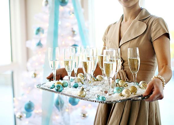 heavenly holiday tiffany wedding