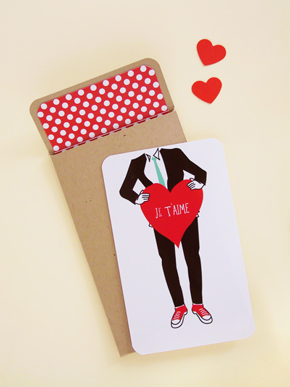 Valentine card by EatDrinkChic