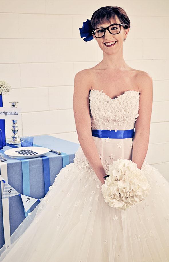 Se potessi disegnare una sposa, sarebbe così!