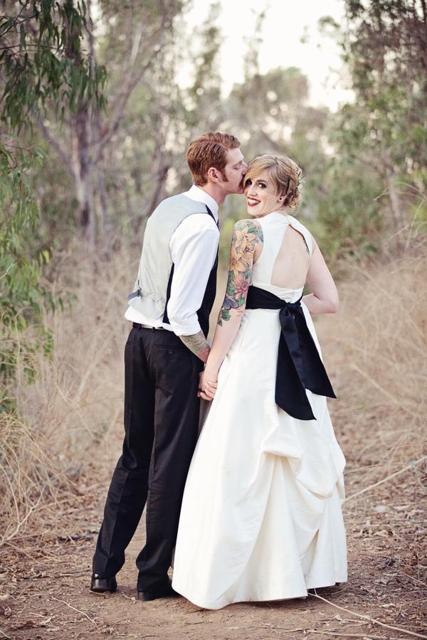 Halloween Goth wedding