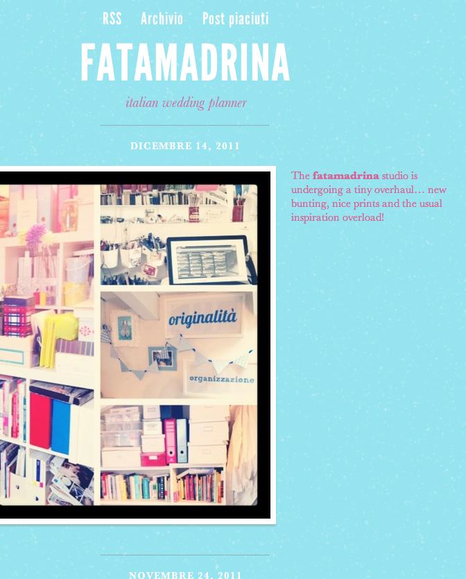 il tumblr di fatamadrina