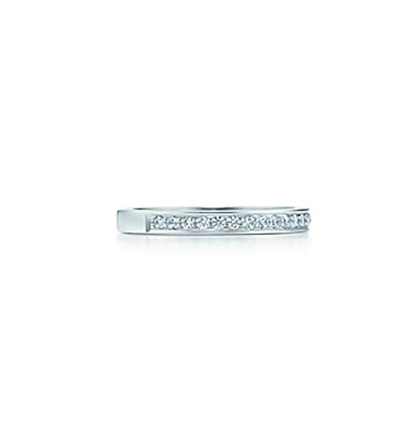 Anello a fascia Tiffany Grace © Tiffany&Co