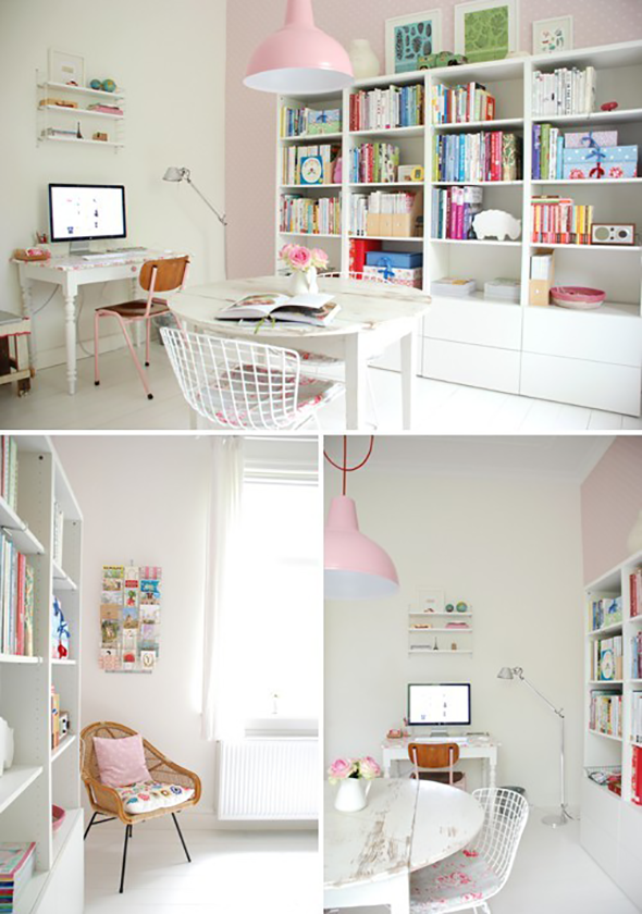 Yvonne home office