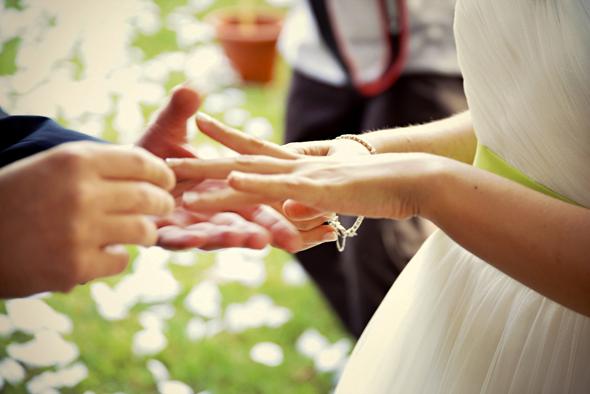 matrimonio Daniele e Ilaria anelli