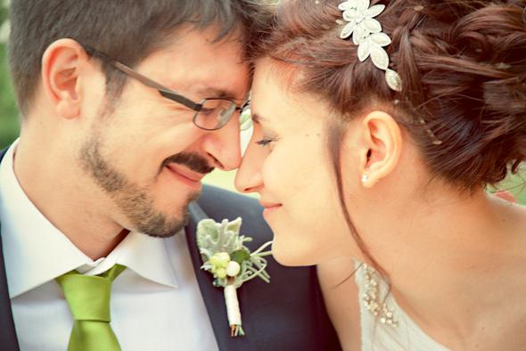 matrimonio Daniele e Ilaria sposi