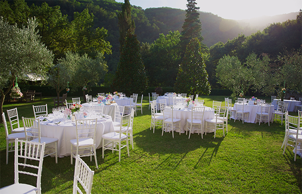 Tuscany wedding table