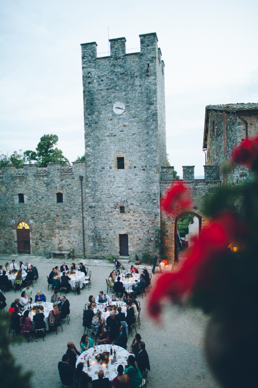 tuscany castle wedding