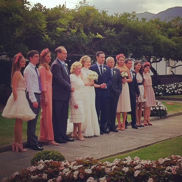 Russian wedding by fatamadrina on Lake Orta