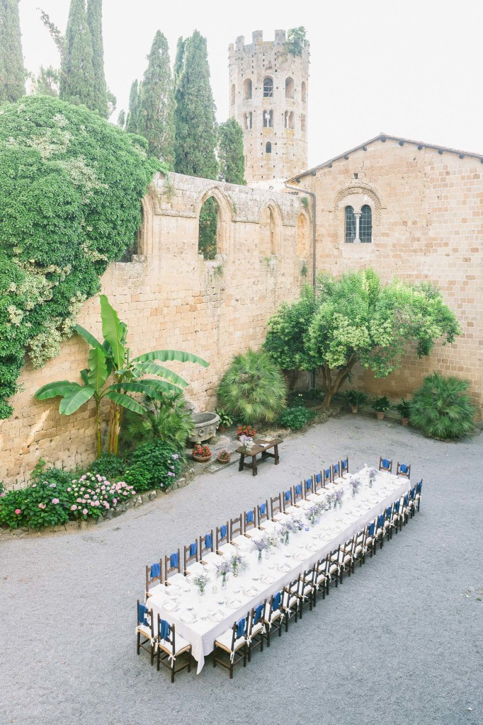 wedding in La Badia Orvieto