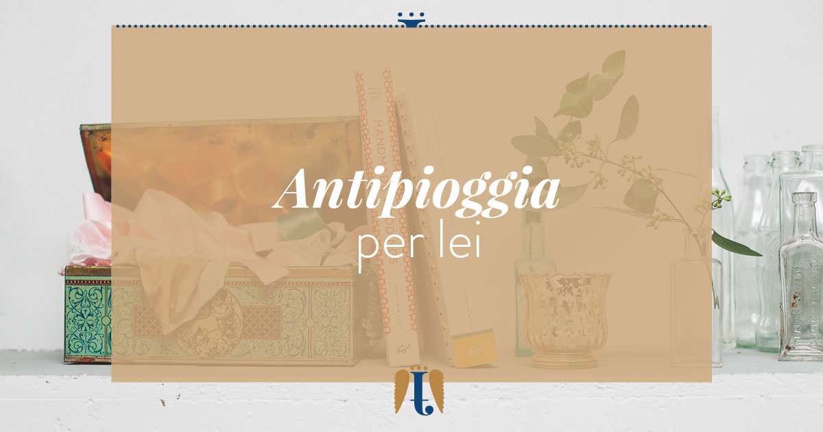 Antistress anti-pioggia per lei matrimonio ph. Infraordinario