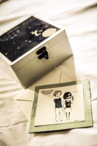 matrimonio D+M illustrazione di Virgola ph. Valeria Beltrami