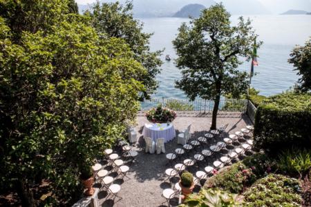 matrimonio D+M a Villa Cipressi sul Lago di Como con fatamadrina ph. Valeria Beltrami