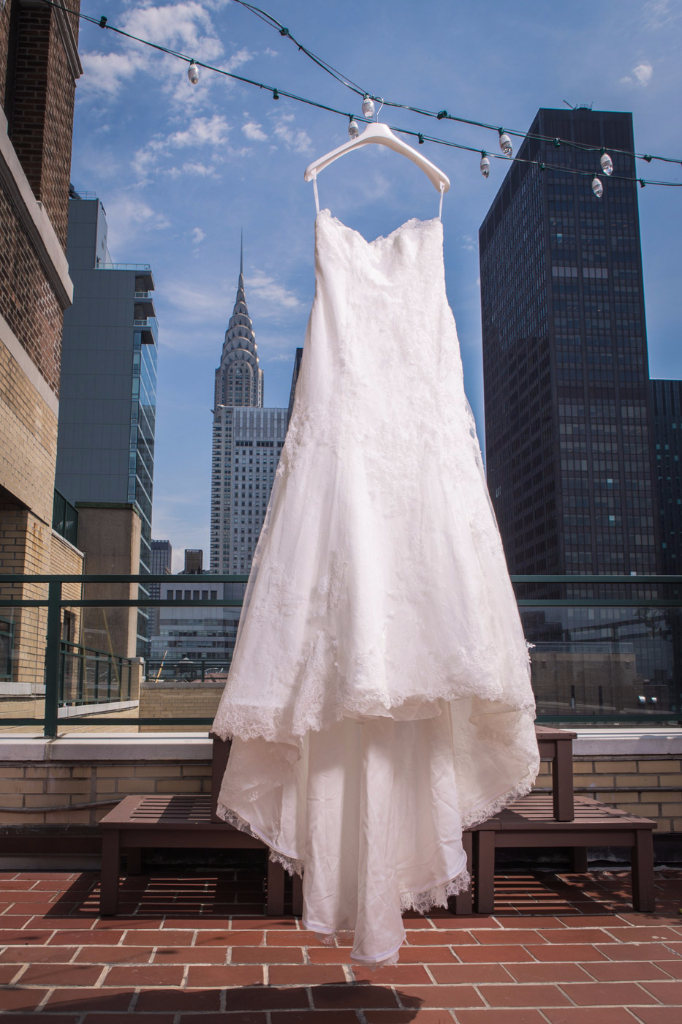 matrimonio S+G vestito con Empire State Building a New York fatamadrina ph. Tom Chaves