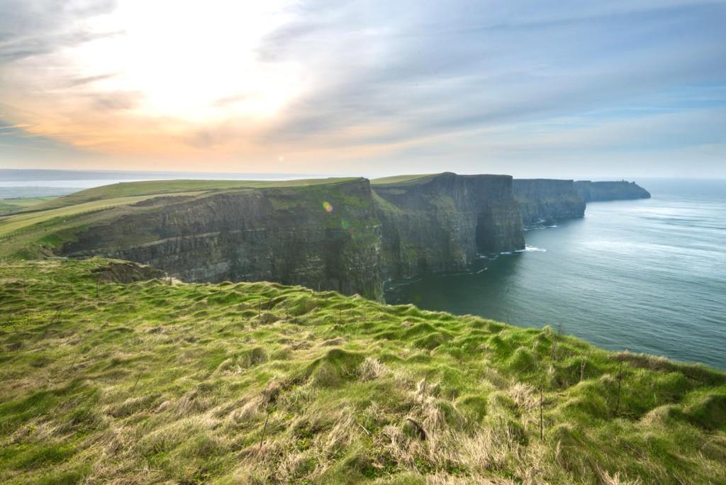Scogliere Moher in Irlanda Oceano