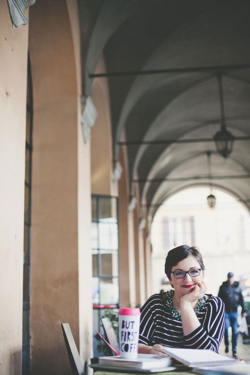 Barbara a Modena Piazza Grande ph. Infraordinario